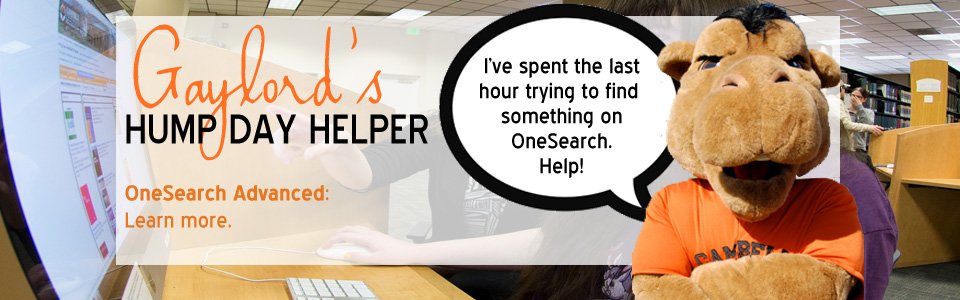 OneSearch Advanced